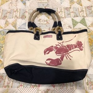 Limited Edition Vineyard Vines Rope Tote